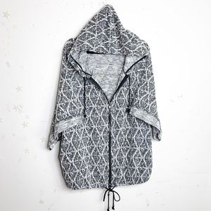 Free people come out of style zip up hoodie